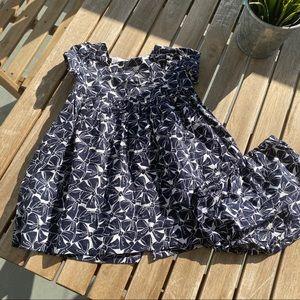 Dress + pants 3 / 6 months Blue Jacadi